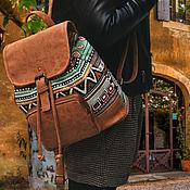 Рюкзаки ручной работы. Ярмарка Мастеров - ручная работа Этнический рюкзак. Handmade.