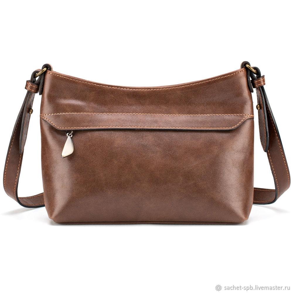 73bab66fc116f Handbags handmade. Livemaster - handmade. Buy Women's leather bag 'Lilly'  (brown ...