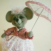 Куклы и игрушки handmade. Livemaster - original item mouse MILK. Handmade.