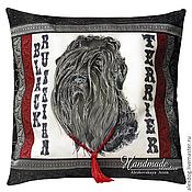 Картины и панно handmade. Livemaster - original item Decorative pillow-batik