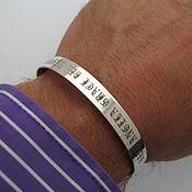 """Украшения ручной работы. Ярмарка Мастеров - ручная работа Браслет из серебра 925 """"Старо-английский"""".Оригинальный подарок мужчине. Handmade."""