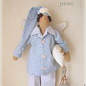 Куклы и игрушки ручной работы. Ярмарка Мастеров - ручная работа Сонный Ангел Йохан. Handmade.