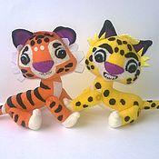 Куклы и игрушки handmade. Livemaster - original item Leo and TIG. Handmade.