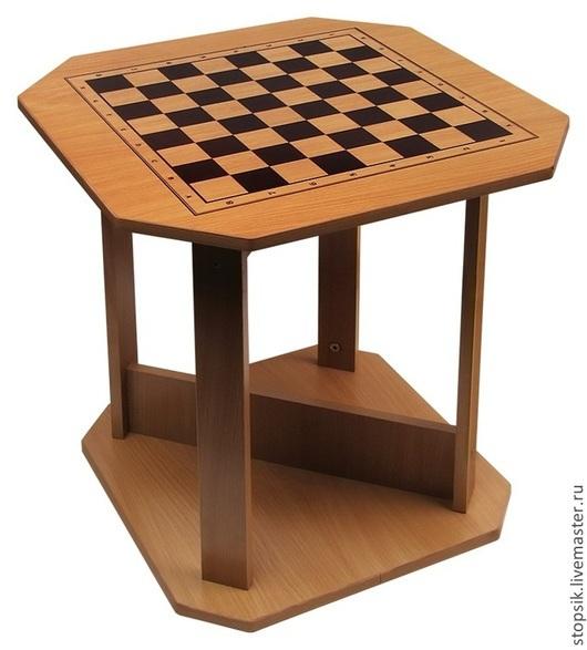 Настольные игры ручной работы. Ярмарка Мастеров - ручная работа. Купить Стол шахматный Детский 21423. Handmade. Шахматы, подарок