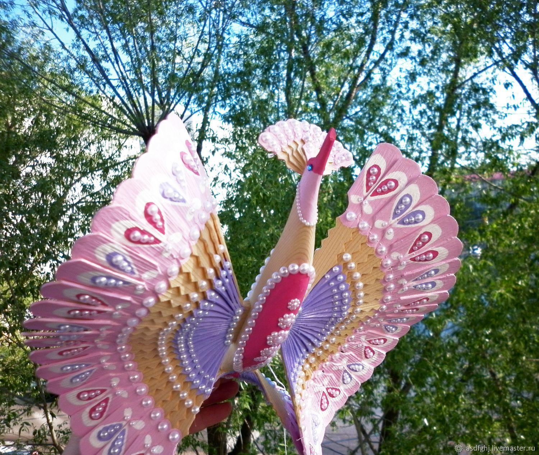 Подарки на свадьбу ручной работы. Ярмарка Мастеров - ручная работа. Купить Свадебный подарок, оберег для молодой семьи птица счастья 'Ладушка'. Handmade.