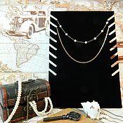 Материалы для творчества handmade. Livemaster - original item Stand for jewelry. Art. М008ЧБ. Handmade.