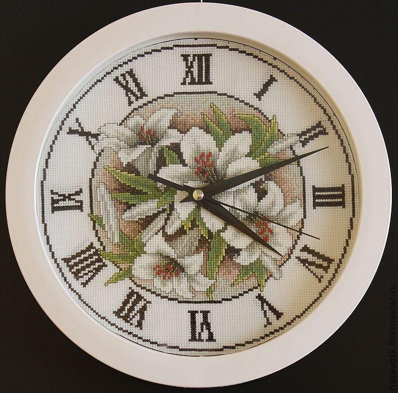 Cross stitch Wall Clock, Watch, Rostov-on-Don,  Фото №1