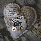 Подарки к праздникам ручной работы. Ярмарка Мастеров - ручная работа Стимпанк сердце. Handmade.