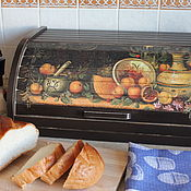 Для дома и интерьера ручной работы. Ярмарка Мастеров - ручная работа Хлебница. Handmade.