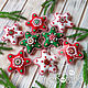 Stars from felt. gift 2020. Christmas decorations. made with love. My Livemaster. Фото №6