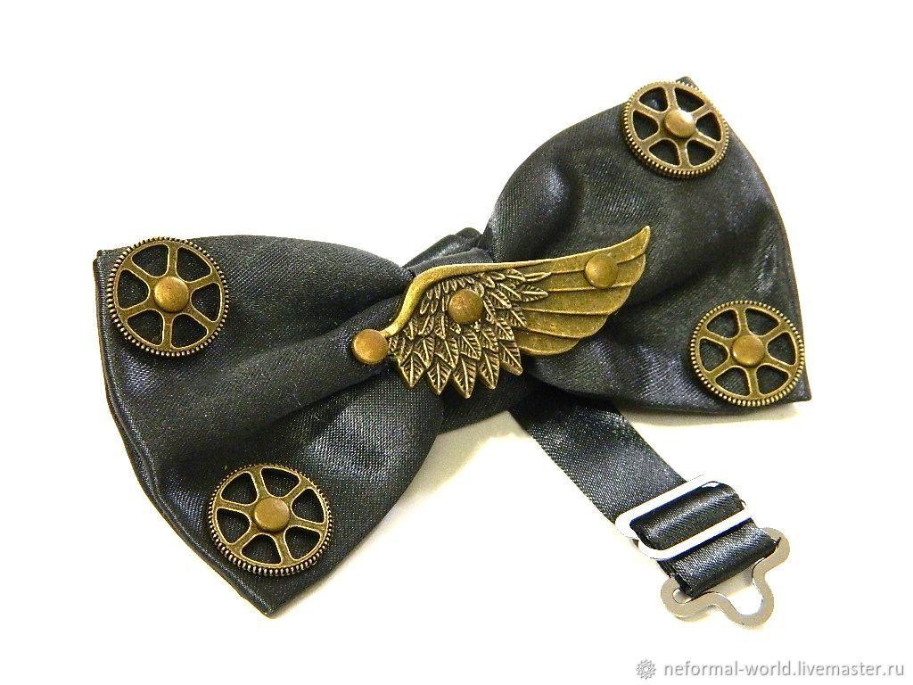 "Галстук бабочка в стиле стимпанк ""STEAMPUNK NOSTALGIA"", Butterflies, Saratov,  Фото №1"