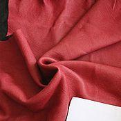 Материалы для творчества ручной работы. Ярмарка Мастеров - ручная работа кожа МРС малиновая. Handmade.