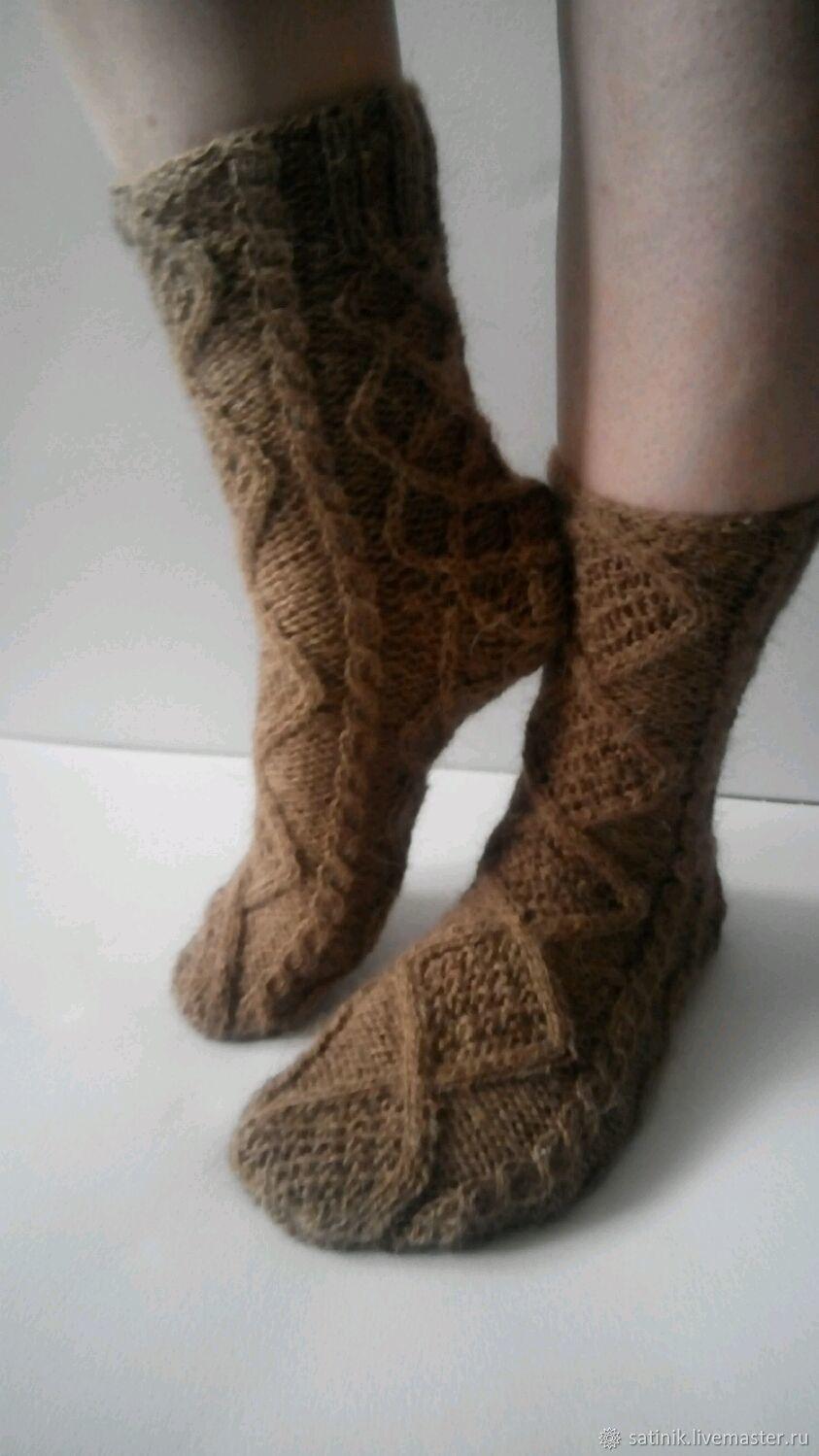 176d9867f7342 Socks & Stockings handmade. Livemaster - handmade. Buy Socks made of camel  wool Henrietta ...