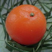 Подарки к праздникам handmade. Livemaster - original item New year souvenir - this soap Mandarin!. Handmade.