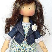 Куклы и игрушки ручной работы. Ярмарка Мастеров - ручная работа Текстильная интерьерная кукла KATY. Handmade.
