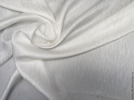 Ярмарка  Мастеров. Купить Жаккард шёлк Ручеек 140 см  16 мм. Шелк натуральный. Материалы для батика, жаккард шелк натуральный 100%.