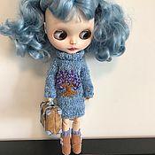 Одежда для кукол ручной работы. Ярмарка Мастеров - ручная работа Одежда для куклы Blythe. Комплект для куклы.. Handmade.