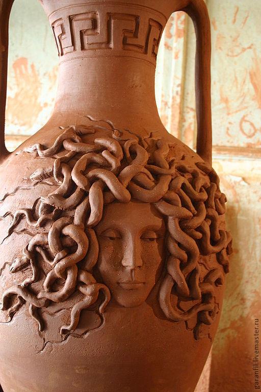 Вазы ручной работы. Ярмарка Мастеров - ручная работа. Купить ваза для цветов. Handmade. Ваза для цветов, ландшафтный дизайн