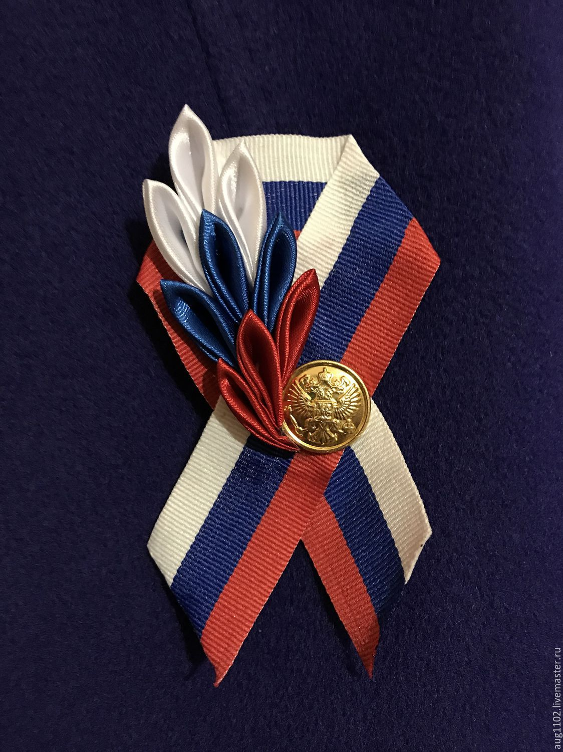 The brooch to the Day of Russia 'Patriotic', Brooches, Moscow,  Фото №1