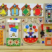 Куклы и игрушки handmade. Livemaster - original item Basebord Developing