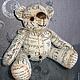 Мишка, медведь, медвежонок, игрушка мишка, игрушка медвежонок, игрушка медведь, авторский мишка, медвежонок ручной работы, интерьерная игрушка, игрушка для интерьера детской, текстильная игрушка, медв