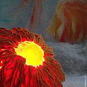 """Для дома и интерьера ручной работы. Ярмарка Мастеров - ручная работа Светильник """"Шафран"""". Handmade."""