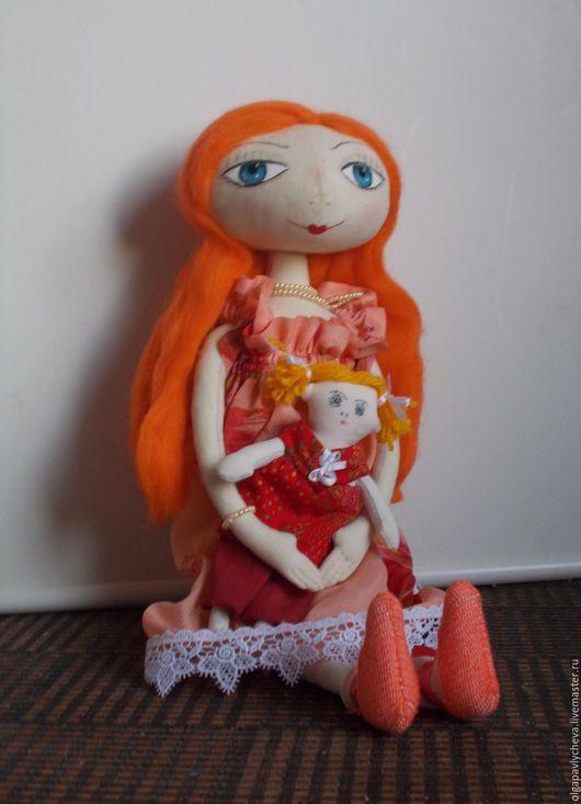 Куклы тыквоголовки ручной работы. Ярмарка Мастеров - ручная работа. Купить Анастасия. Handmade. Кукла ручной работы, кукла интерьерная