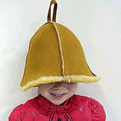 Дача и сад handmade. Livemaster - original item NEW children`s bath Cap. Handmade.