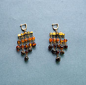 Украшения handmade. Livemaster - original item earrings chandeliers