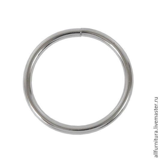 Шитье ручной работы. Ярмарка Мастеров - ручная работа. Купить Кольцо №6 сварное никель 4,9/50,2/60мм. Handmade.