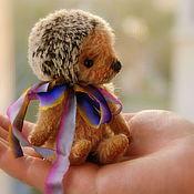 Куклы и игрушки ручной работы. Ярмарка Мастеров - ручная работа Тедди Ежик, 11см. Handmade.