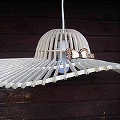 Для дома и интерьера ручной работы. Ярмарка Мастеров - ручная работа Люстра из дерева. Handmade.
