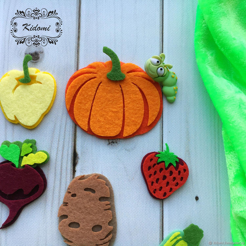 фрукты и овощи из фетра картинки такой