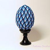 Сувениры и подарки handmade. Livemaster - original item Egg on stand Easter. Mosaic. Handmade.