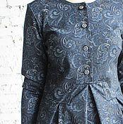 Одежда ручной работы. Ярмарка Мастеров - ручная работа Платье длинное в пол Queen узор. Handmade.