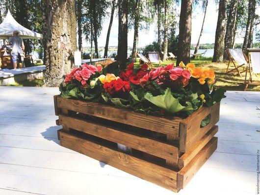 Ящик  `Для чего угодно` от мастерской WoodMoring!  Возможны разные цвета и формы по нашим и вашим эскизам!