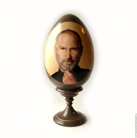 Персональные подарки ручной работы. Ярмарка Мастеров - ручная работа. Купить VIP подарки Яйцо на ножке с портретом h 32 см.. Handmade.
