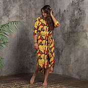 """Сарафаны ручной работы. Ярмарка Мастеров - ручная работа """"Эквадор"""" платье-рубашка из хлопка 100. Handmade."""