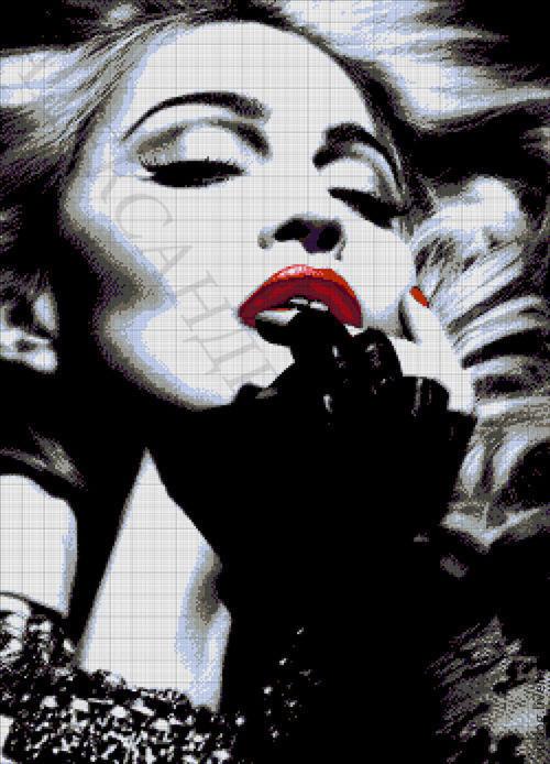 """Вышивка ручной работы. Ярмарка Мастеров - ручная работа. Купить Набор для вышивания бисером """" Мадонна """". Handmade. Мадонна"""