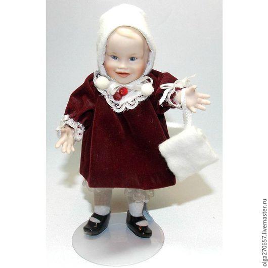 Винтажные куклы и игрушки. Ярмарка Мастеров - ручная работа. Купить Дженнифер от Иоланда Белло. Handmade. Бежевый, фарфор