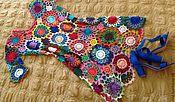 """Одежда ручной работы. Ярмарка Мастеров - ручная работа Платье"""" Многоцветье"""". Handmade."""