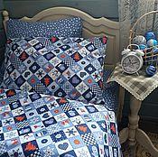 Для дома и интерьера handmade. Livemaster - original item Bedding set new year. Handmade.