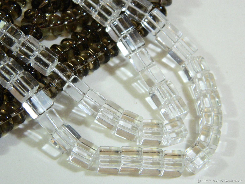Rhinestone beads cube 8h8 mm piece, Beads1, Saratov,  Фото №1