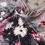 Материалы для творчества handmade. Livemaster - original item Fabric: Silk crepe Valentino panels. Handmade.