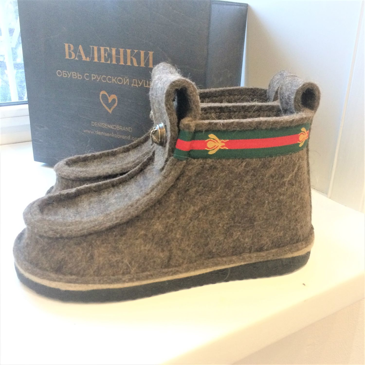 Gifts on February 23: Men's boots in Gucci style, Gifts for February 23, Moscow,  Фото №1