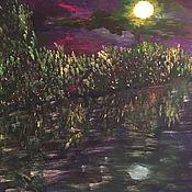 Картины ручной работы. Ярмарка Мастеров - ручная работа Ночь. Handmade.