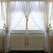Для дома и интерьера handmade. Livemaster - original item Curtains for the bedroom the DUO. Handmade.