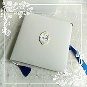 """Свадебный салон ручной работы. Ярмарка Мастеров - ручная работа Фотоальбом """"Барокко. Синий""""возможны варианты цвета.. Handmade."""
