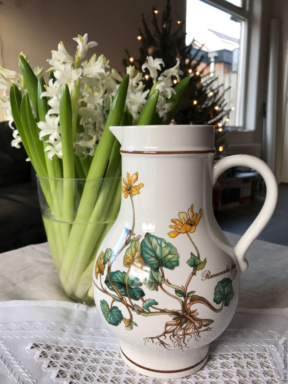 Pitcher Villeroy&Boch Botanica, Luxembourg, Vintage teapots, Arnhem,  Фото №1