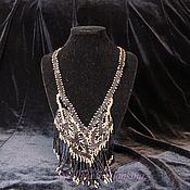 Украшения handmade. Livemaster - original item Necklace Evening black. Handmade.